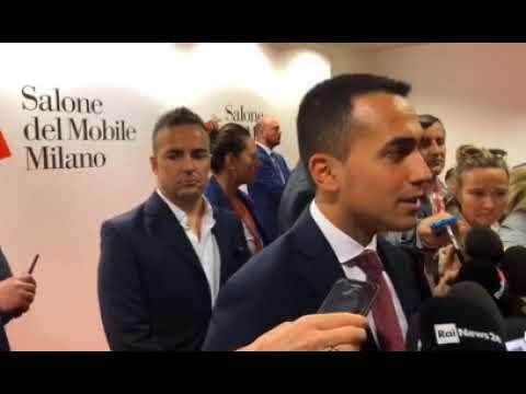 Luigi Di Maio, Salone del Mobile (Milano 21 04 2018)