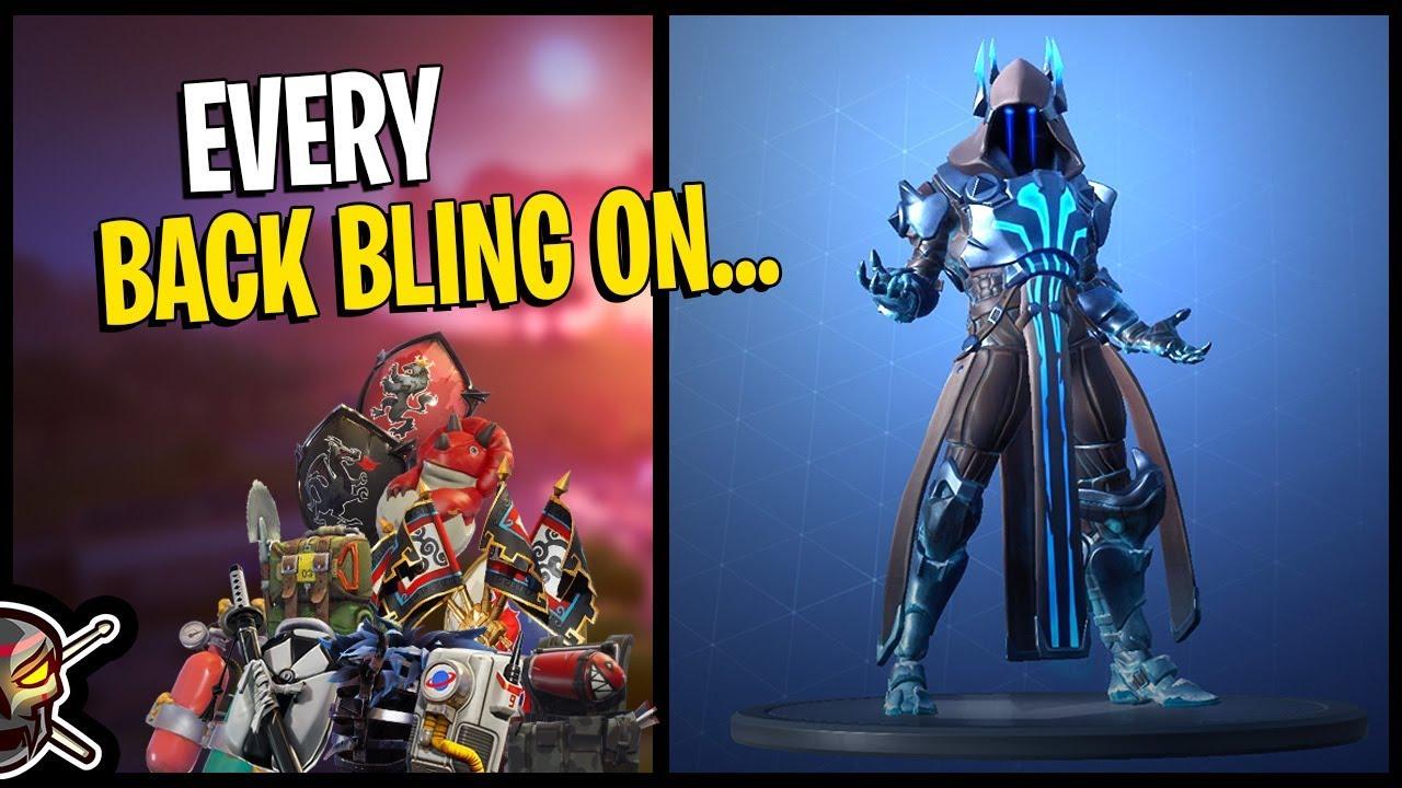 Every Back Bling On The Ice King Tier 100 Unlock Fortnite Season