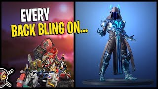Every Back Bling on THE ICE KING *TIER 100* Unlock - Fortnite Season 7 battle Pass
