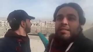 رسالة إلى حسين مرتضى من ثوار الغوطة في كراجات العباسيين