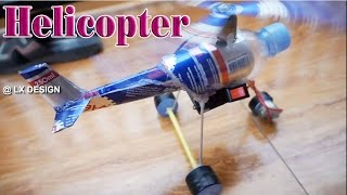 How To Make a Helicopter DIY Using Cans