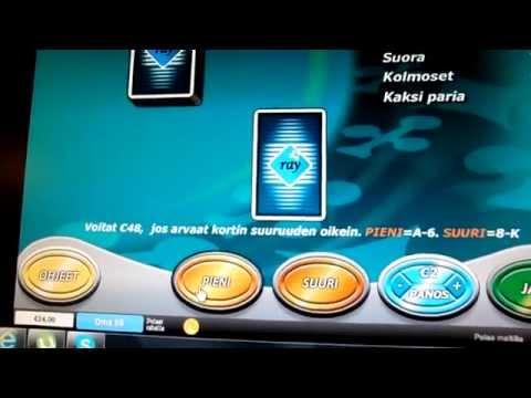 192€ tuplaus pokerissa