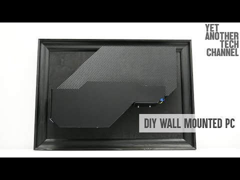 Diy computer screen wall mount