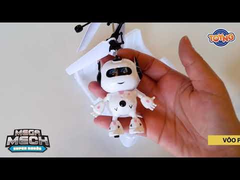 Robô voador por indução - Mega Mech - 42448