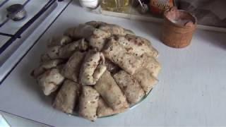 С Масленицей))) Рецепт блинов с форелью, грибами и сливками
