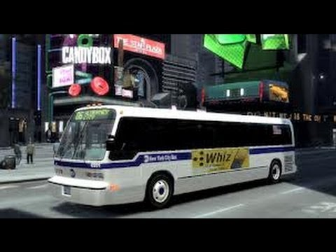 GTA IV - Bus Driver : Route A # 1