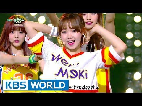Weki Meki (위키미키) - I don''t like your Girlfriend [Music Bank / 2017.09.29]