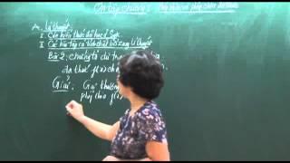 Toán 8. Phép nhân và phép chia đa thức (Phần 3)