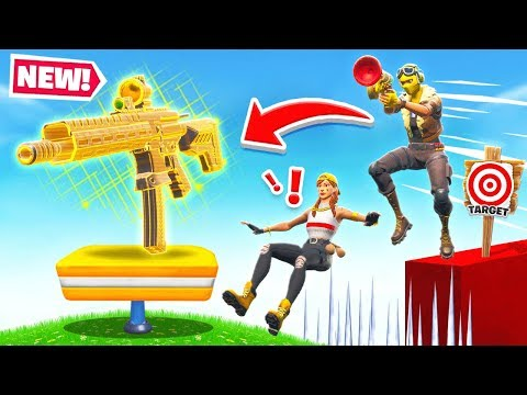 *NEW* AR Sharp Shooter DEATH RUN! In Fortnite!