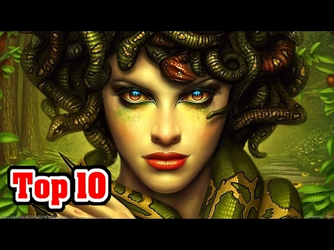 Top 10 Mythical CREATURES We're GLAD DON'T EXIST