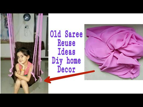 Old Saree Reuse Idea Ll Making Jula At Home Ll DIY Home Decor Ll Best Out Of Waste