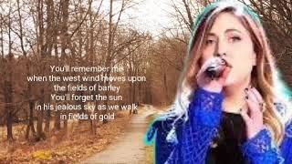 Fields of Gold__Maelyn Jarmon (Lyrics)