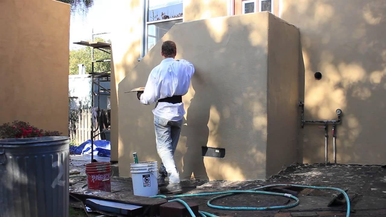 Smooth Exterior Stucco Walls Santa Barbara Smooth Plastering Finishes Marble Smooth Stucco Youtube