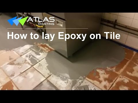 Epoxy Flooring on Tile- Non-slip Commercial Kitchen Flooring in Sydney-Atlas Coating
