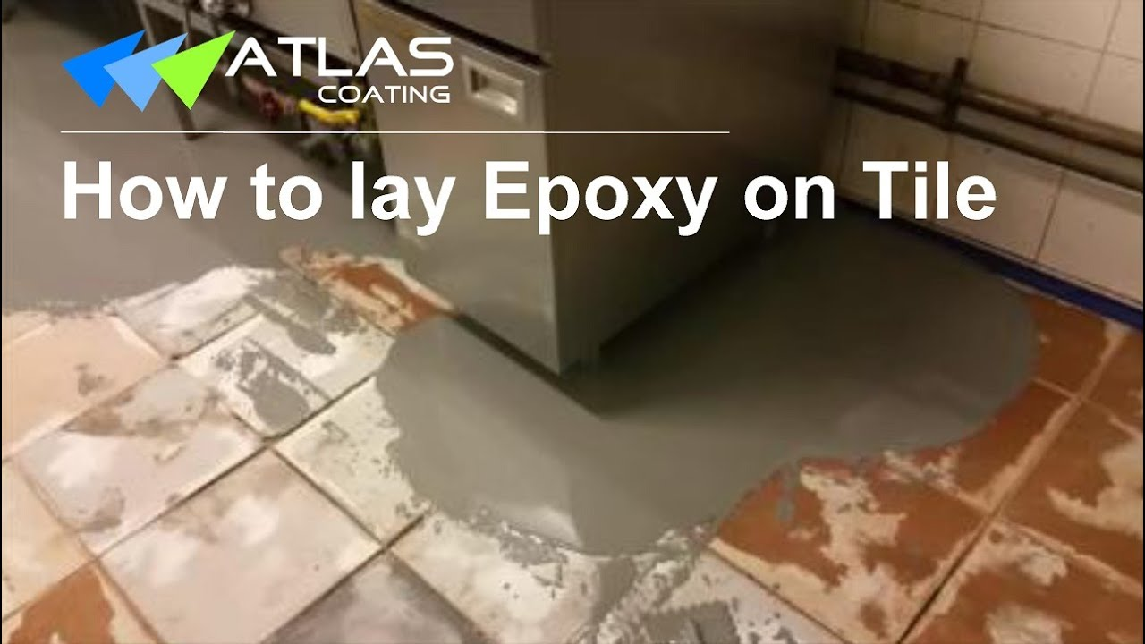 epoxy flooring on tile- non-slip commercial kitchen flooring in