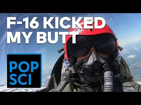 Flying in an Air Force F-16 | I PUKED 3 TIMES 🤮