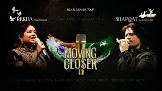 "MOVING CLOSER Concert: Shafqat Amanat Ali singing ""Mora Saiyaan Mose Bolena"" for Fans"