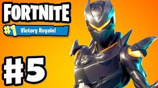Fortnite - Gameplay Part 5 - Oblivion Skin! 50 v 50! #1 VICTORY ROYALE with Zanitor!