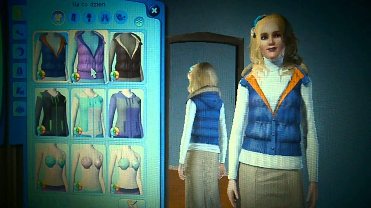 Ciuchy I Fryzury W Sims 3 Cztery Pory Roku