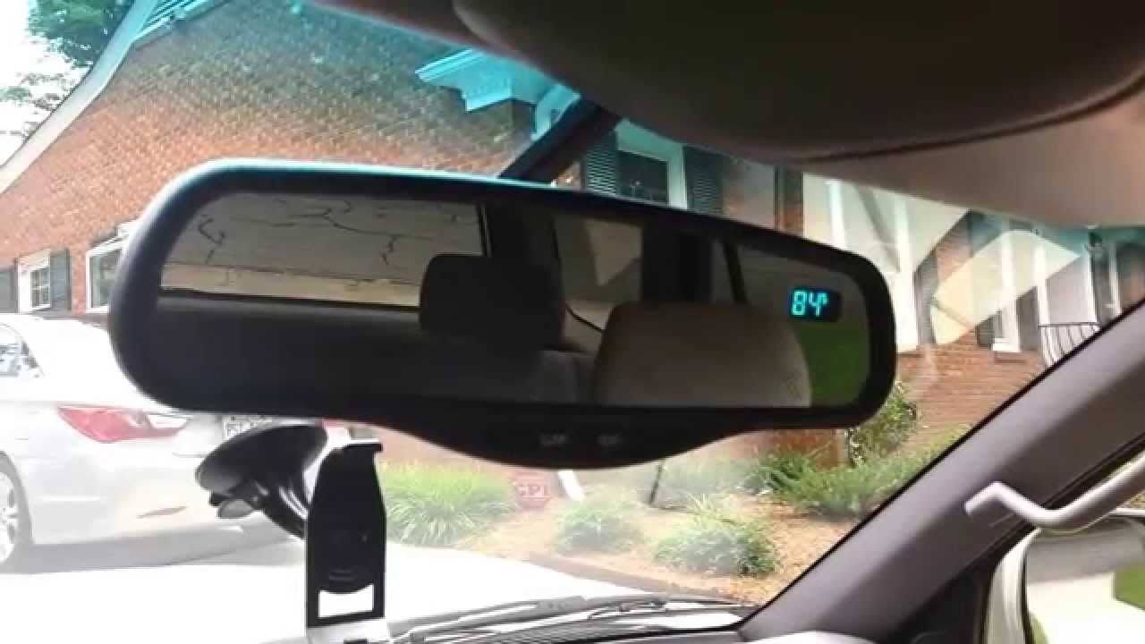 Toyota 4runner Rearview Mirror Explanation Youtube