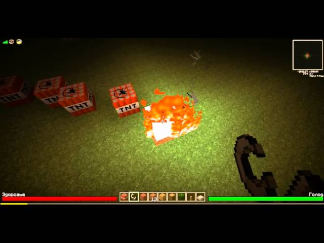 MINECRAFT взрыв карты