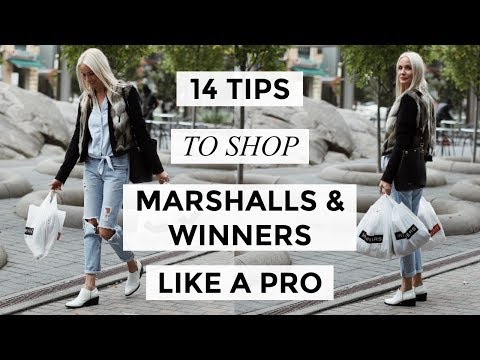 14 TIPS TO SHOP MARSHALLS + WINNERS LIKE A PRO | SHOPPING | Liv Judd