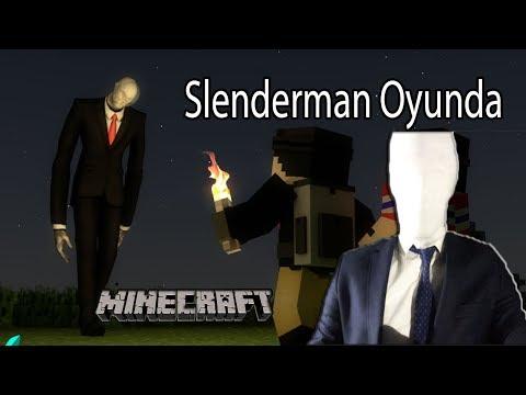 SLENDERMAN (SÜLEYMANDER) MİNECRAFT OYNUYOR