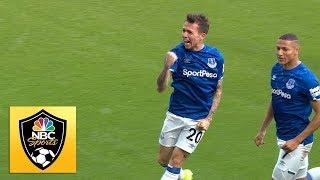 Bernard puts Everton in front against West Ham United | Premier League | NBC Sports