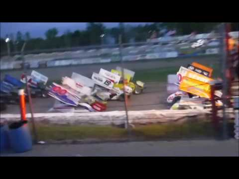 Utica Rome Speedway - May 28, 2017 - ESS Sprint Car Main
