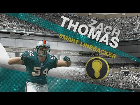 Zach Thomas Through The Years - Gameday 97 - Madden 09