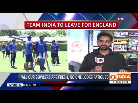Indian team prepares to leave for England, Virat Kohli speaks to media | DD India Report (Part 2)