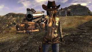 Fallout New Vegas - КОВБОЙ. Билд через пистолеты, криты и V.A.T.S.