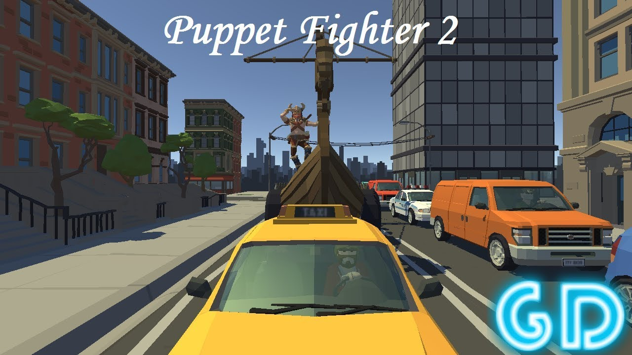 Puppet Fighter 2 Players Ragdoll Arcade Gameplay Android