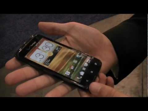 CTIA 2012: Verizon HTC Droid Incredible 4G LTE