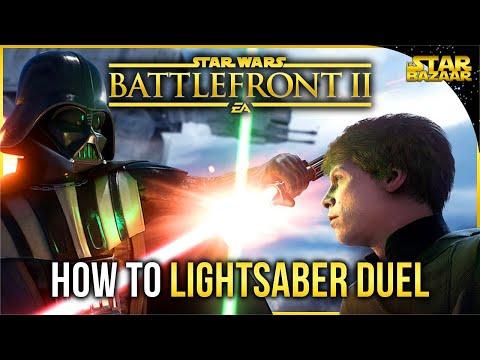 Battlefront 2 Tips | How To Lightsaber Duel Battlefront Tips