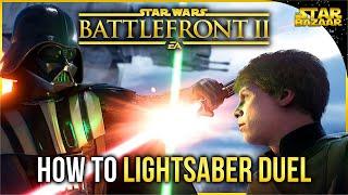 Gambar cover Battlefront 2 Tips | How To Lightsaber Duel Battlefront Tips