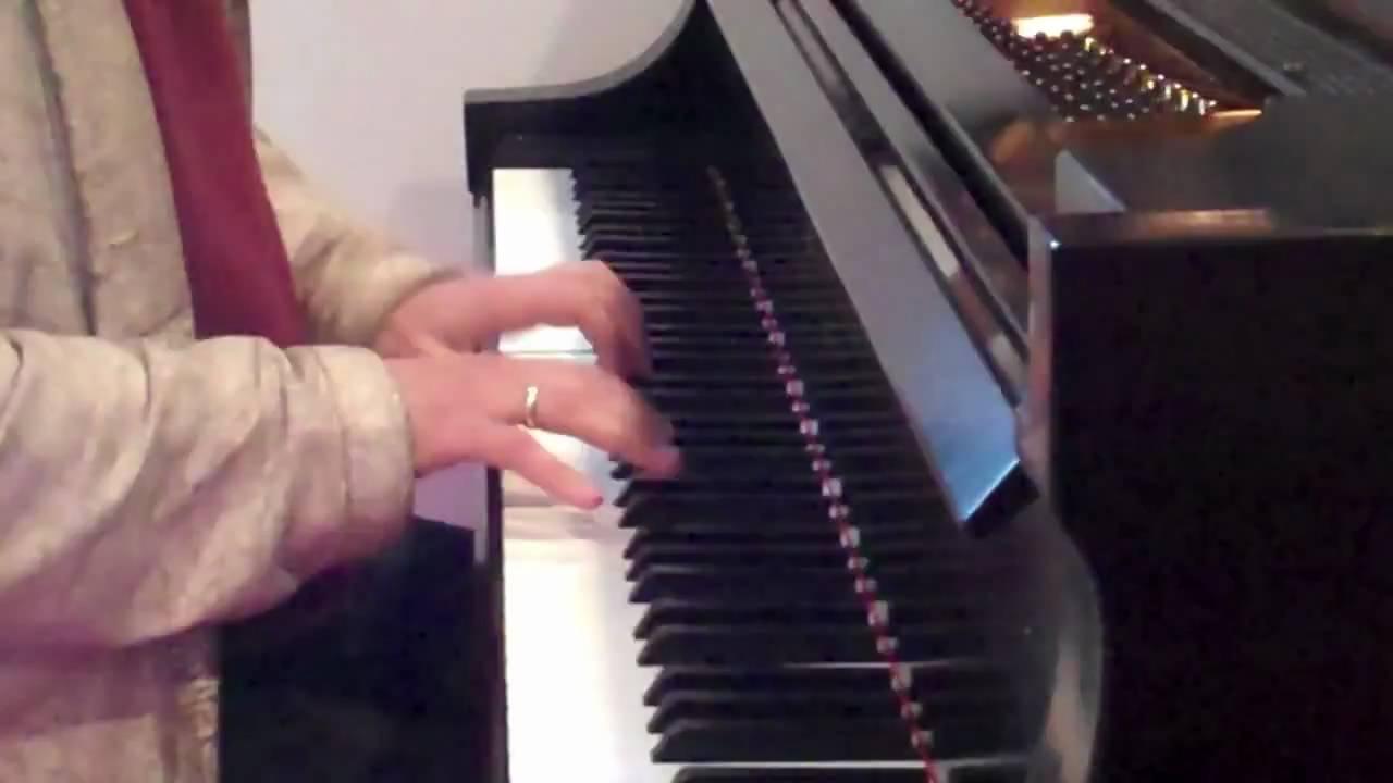 The Russian Stravinsky flipCam Video #2  Alexander Mogilevsky Improvises on Autumn Leaves