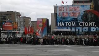 9 мая 2017 бессмертный полк. Луганск. ЛНР