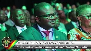 2019 Mining Indaba, Capetown, South Africa