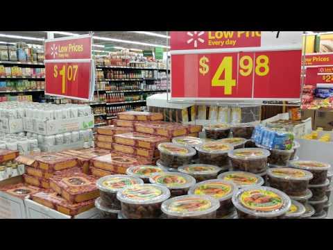 Indian And Pakistani Grocery At Walmart Brampton Ontario Canada 4K