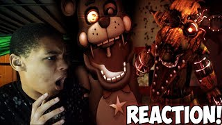 FNAF SFM I AM ALL OF ME CRUSH 40 SONG REACTION OW THE EDGE