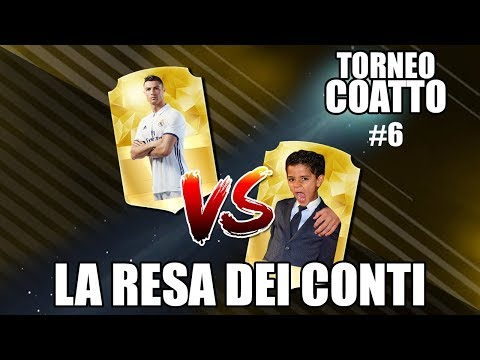 IL TORNEO COATTO DI FIFA 18: LA RESA DEI CONTI| RONALDO VS RONALDO J.|