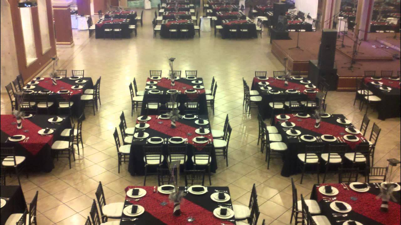 Salon de eventos emporio guadalajara montajes de mesas for Actividades de salon