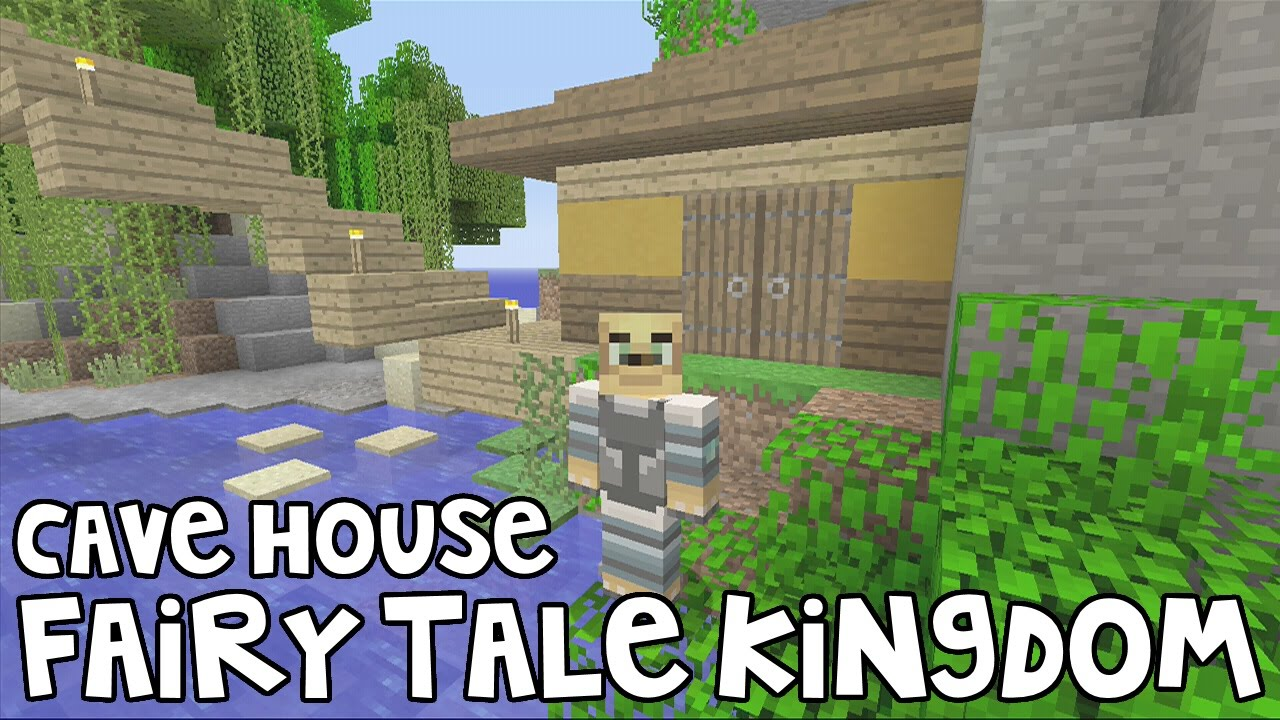 how to build a cave house in minecraft xbox