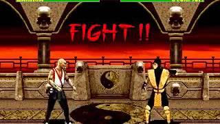 Mortal Kombat 2 - Baraka (Sega Genesis) (By Sting)