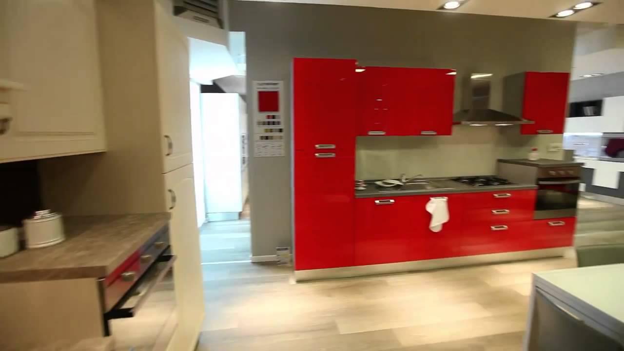 Esposizione cucine lube giordano arreda youtube for Lideo arreda