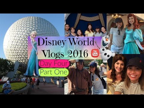 Disney World Vlogs 2016 | Day Four Part One - EPCOT and Akershus Banquet Hall