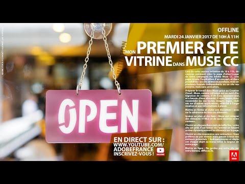 Initiation Adobe Muse CC : Mon premier site vitrine  Adobe France