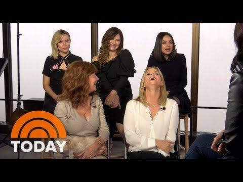 Mila Kunis, Kristen Bell, Kathryn Hahn: We're Even Badder In 'A Bad Moms Christmas'  TODAY