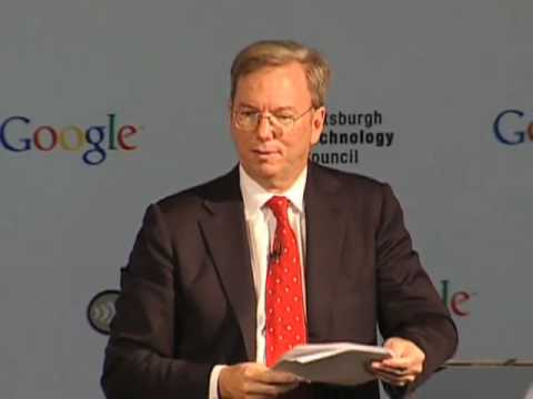 Eric Schmidt on technology, innovation & the global economy